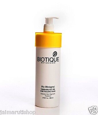 Biotique Bio Bhringraj Therapeutic Oil For Falling Hair Regrowth Treatment 800Ml