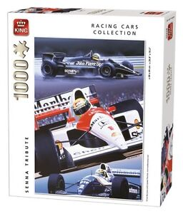 1000 Piece Formula 1 Racing Cars Jigsaw Puzzle - AYRTON SENNA TRIBUTE 05628