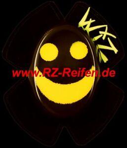 KNIESCHLEIFER WIZ Racing SPARKY SMILEY schwarz-gelb FUNKEN titan SLIDERS SPARKIE