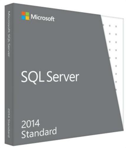 SQL Server 2014 Standard Product Key License MS 16 CPU Cores Genuine
