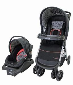NEW Safety 1st 01281CCZF Amble Quad Travel System, Gentle Lace Condition: New