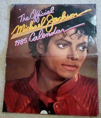 The Official Michael Jackson 1985 Original 13 Great Color Pix Calendar G  ()