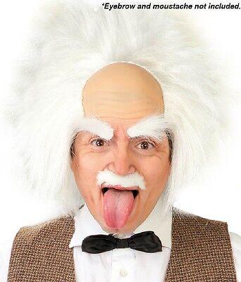 Herren Damen Einstein's Mad Wissenschaftler Halloween Kostüm Outfit - Einstein Perücke Kostüme