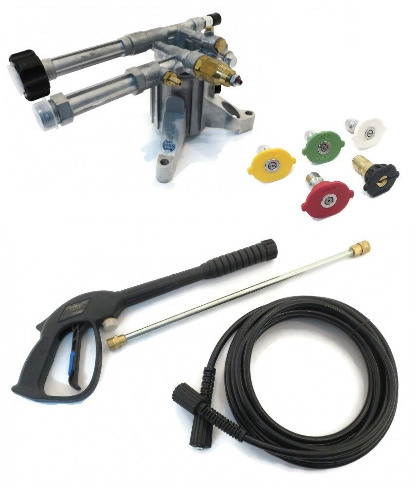 2400 psi AR PRESSURE WASHER PUMP /& SPRAY KIT Mi-T-M CV-2100-0MHC  CV-2100-4MBC