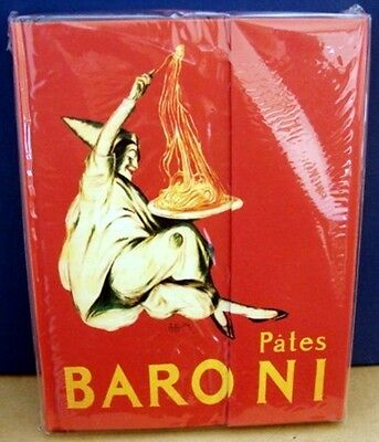 Pates Baroni (cappiello) Blank Writing Journal