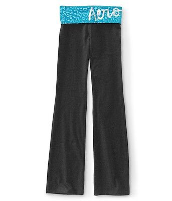 aeropostale womens tonal foil animal print yoga pants
