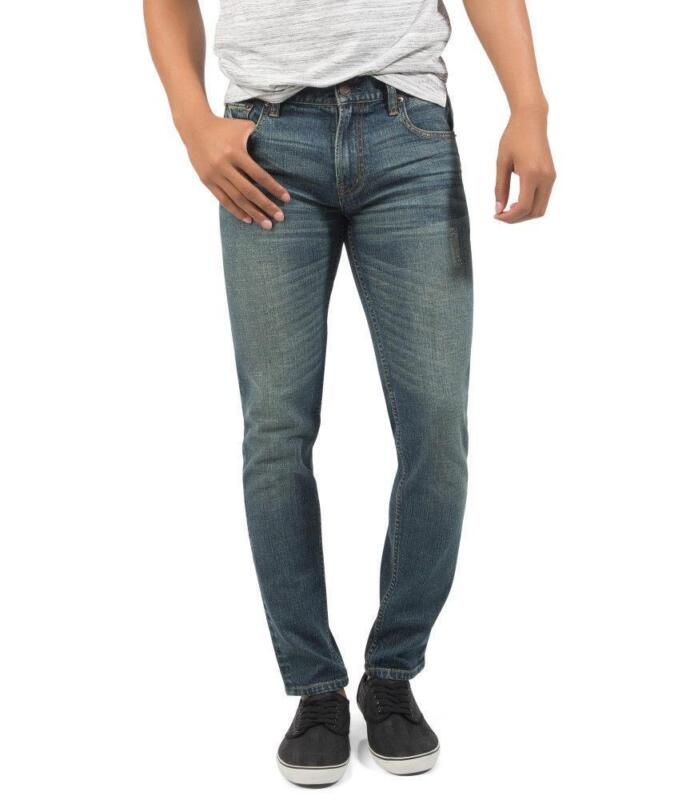 Our men's skinny jeans offer a modern skinny fit from hip to hem, and are perfect for the fashion forward denim enthusiast. Our collection of premium denim designer skinny jeans for men are fitted to offer a sharp, clean look with enough stretch to ensure a comfortable fit.
