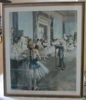 Framed Degas Reproduction