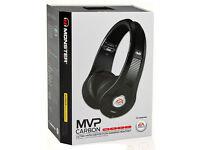 monster carbon mvp headset in black for xbox 360 -new brand