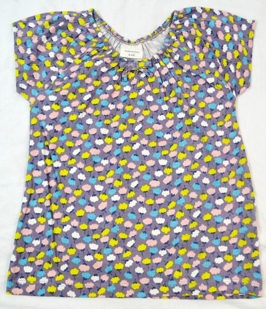 Mini boden girls cotton short sleeve 39 pretty 39 top t shirt for Mini boden germany