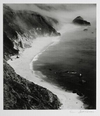 JEFF NIXON BIG SUR COAST - FOG 8X10 PHOTOGRAPH - CLASSIC HIGHWAY 1 IMAGE Big Sur Coast Highway