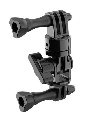 ACCESSORI SP GADGET ATTACCO SNODATO UNIVERSALE PER GOPRO CAMERA HERO 3 / HERO 4