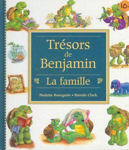 FRENCH BOOKS FOR CHILDREN - FRANKLIN BENJAMIN BOOKS/TREASURIES