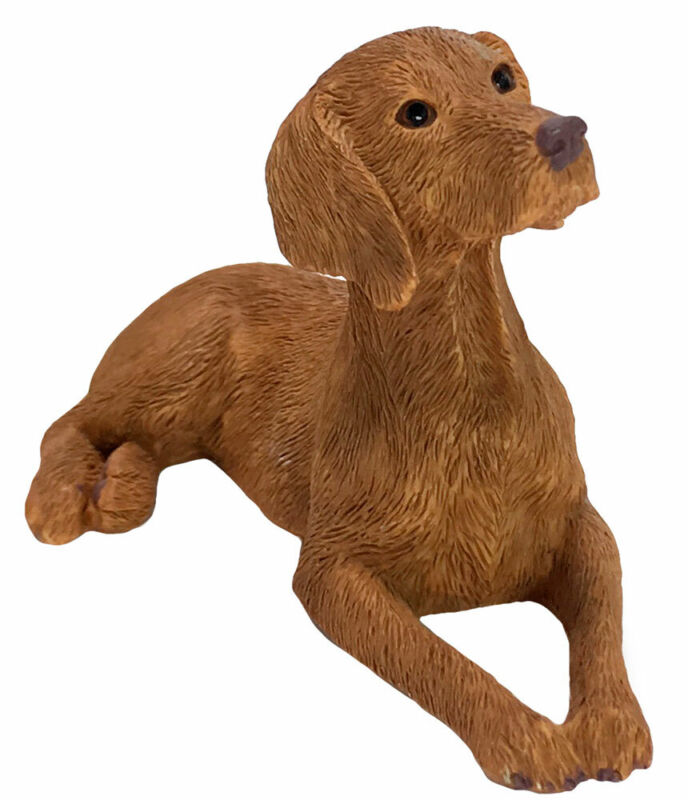 Vizsla Figurine Hand Painted - Sandicast