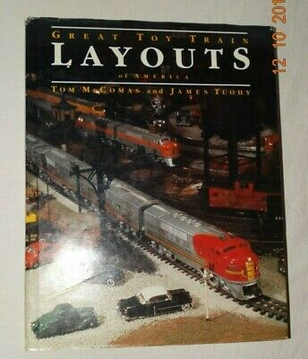 1987 Great Toy Train Layouts of America - AUTOGRAPHED by T. McCOMAS & J. (Great Toy Train)