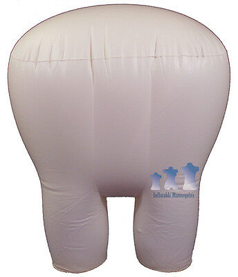 Inflatable Mannequin Super Large Pantybrief Form Ivory