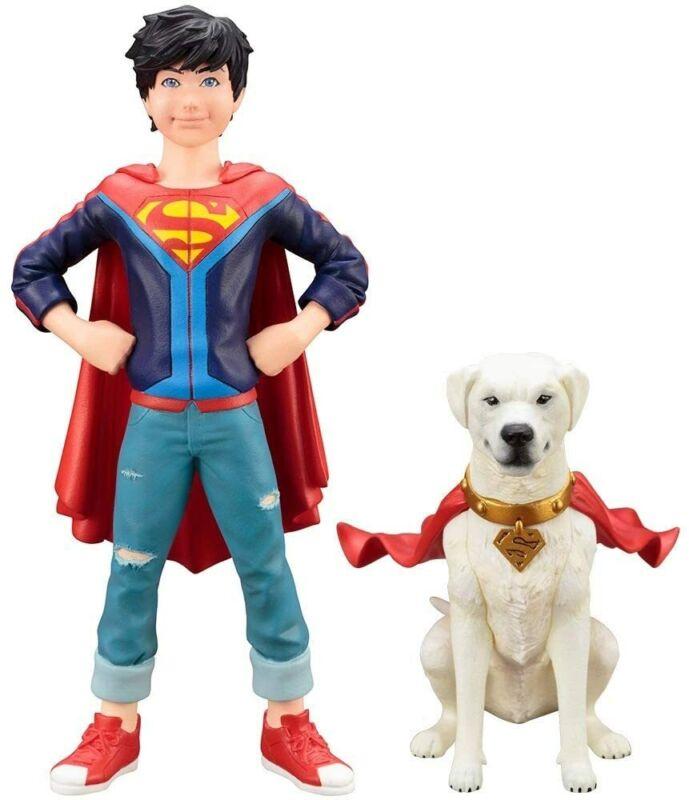 Kotobukiya DC Super Sons Jonathan Kent Superboy & Krypto Artfx+ Figure Statue
