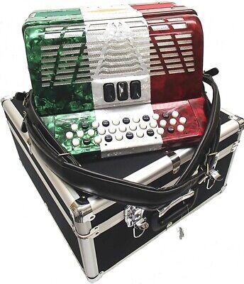 Bonetti Tex Mex 3-Switch Diatonic Button Accordion EAD 3412