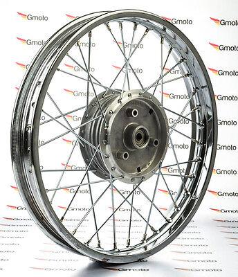 Chrom Speichenrad Stahl Felge Simson S50 S51 1,6x16 Rad Neu