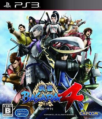 USED PS3 Sengoku Basara 4 CAPCOM PlayStation 3 Free Shipping Japan Import