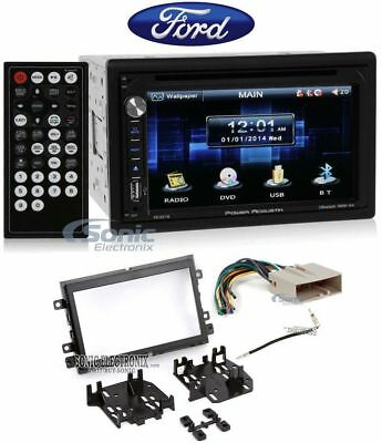 "In-Dash 6.5"" DVD/CD Player Receiver Monitor w/ Bluetooth For 2007 Ford Mustang (Dvd-player In Dash)"