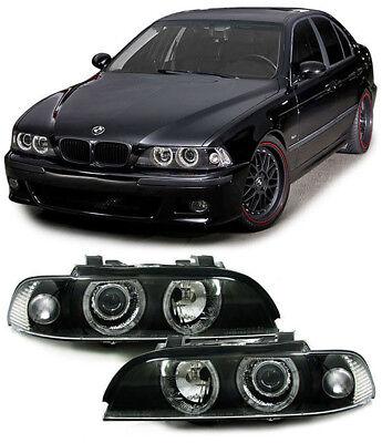 H7 H7 Scheinwerfer Angel Eyes schwarz für BMW 5er E39 95-00 online kaufen