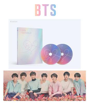 BANGTAN BOYS [E Ver.] LOVE YOURSELF Answer BTS Album 2CD+Photocard+Sticker K-POP