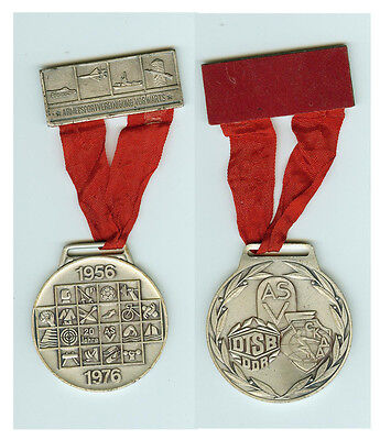 DDR Plakette Medaille ASV Armeesportvereinigung vorwärts 1956 - 1976