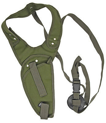 OD Green Gun Vertical Shoulder Holster Hunting BB Airsoft Pistol Handgun -