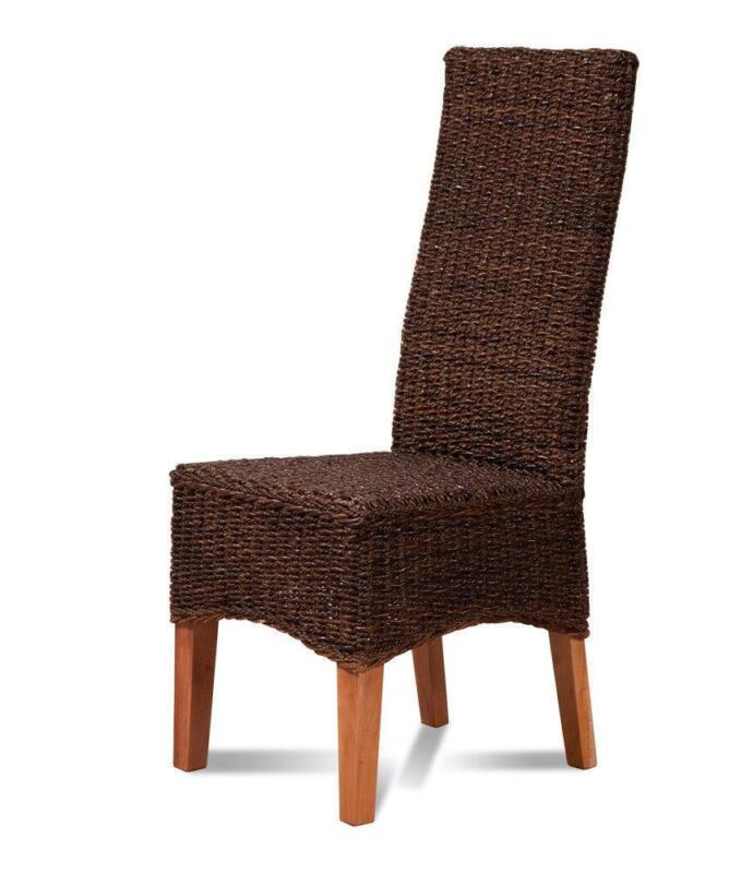 Rattan dining room chairs ebay for Ebay dining room chairs