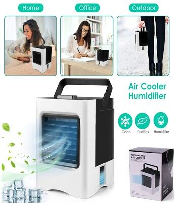 Evaporative Portable Air Conditioner Cooler Fan Humidifier Air Cooling Cooler US
