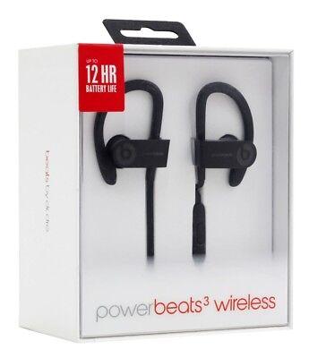 Beats by Dr. Dre Powerbeats 3 Wireless Ear-Clasp Wireless Headphones BLACK
