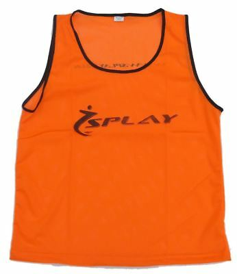 Splay Club Training Bib Orange Small vest wear bibs Rugby Football Sports vests