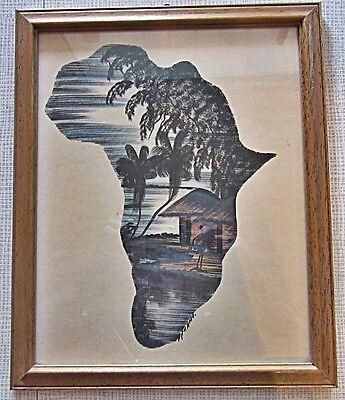 Afrikanische Original Tuschezeichnung,aus Sammlung  * Kenia 1970. * 7