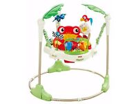 fisher price rain firest jumperoo