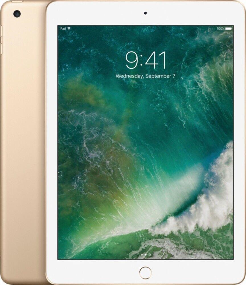 New Sealed Apple iPad 5th Generation (latest model) 32GB, Wi-Fi , 9.7Inch - Gold