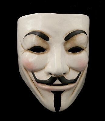 Anonymous Mask Venice Vendetta Authentic in Paper Mache 1823