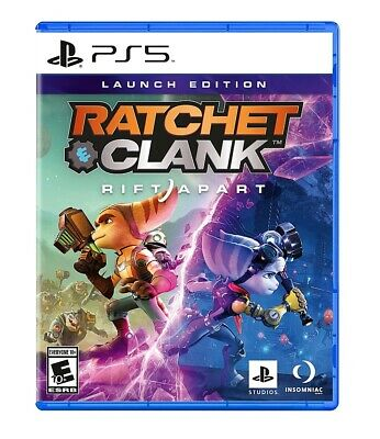 Ratchet & Clank Rift Apart (Sony Playstation 5, 2021) DLC INCLUDED