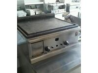 COMMERCIAL HOT FLAT PLATE GRIDDLE NATURAL GAS