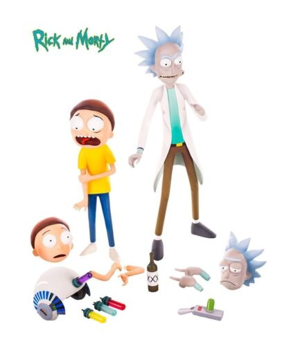 Rick & Morty Mondo 1/6 Scale Figure Set NEW