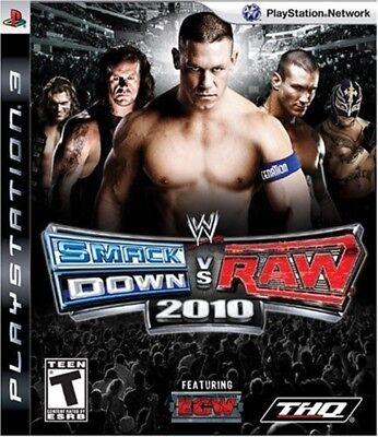 Used PS3 WWE Smackdown vs Raw 2010, usado comprar usado  Enviando para Brazil