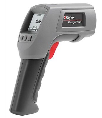 Raytek Rayst81 St Pro Plus Infrared Thermometer With 501 Optics -25 To 1400f