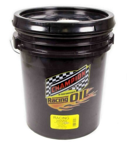 CHAMPION BRAND 20w50 Synthetic Racing Oil 5 Gallon P/N - 4111D