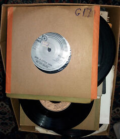 """Joblot 7"""" Singles x 200 (70's) Some Without Sleeves Not Tested Lot3"""
