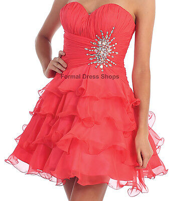 Sale Graduation Short Prom Cocktail Dinner Cruise Homecoming Dress Under $100