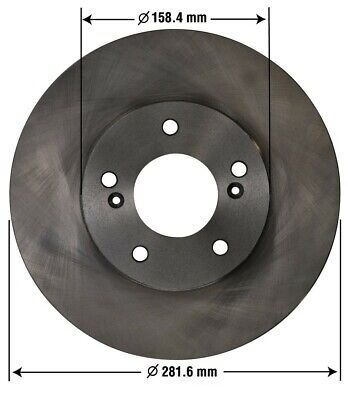 Disc Brake Rotor-Type R Front OMNIPARTS 13100062