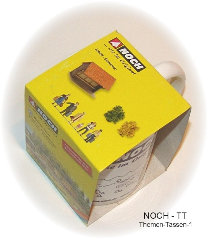 Noch Tt Gauge Theme Cup With Contents/Season Promotion From Fa. # New IN Boxed