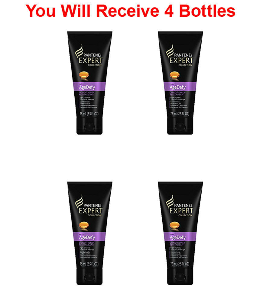 4x Pantene Age Defy Expert Pro-V Travel Size Conditioner 2.5