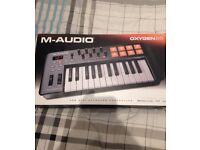 M-Audio OXYGEN 25 USB MIDI Keyboard Controller 25 Keys * BOXED *