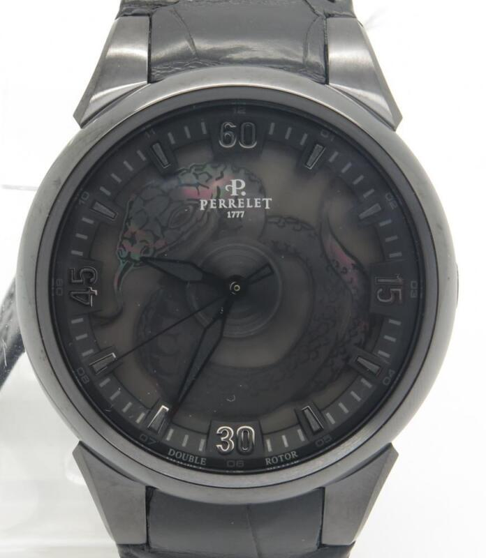 Perrelet Turbine A8001/1 Snake Limited Edition 99pcs Brand New W/ Box Papers